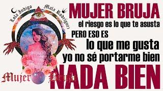 MUJER BRUJA Con LETRA 🎶   Lola Indigo, Mala Rodríguez