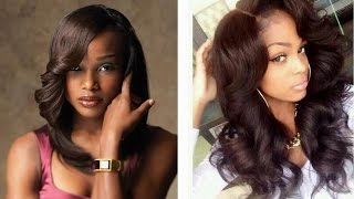 Sew In Weave Hairstyles / Natural Long Short Black Hair Styles For Black Women