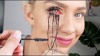 I tried giving myself the worlds longest eyelashes! NOT CLICKBAIT! Viral Mascara Tested!