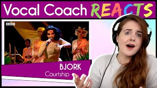 Vocal Coach reacts to Björk - Courtship on Later... with Jools
