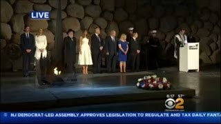 Trump Lays Wreath At Yad Vashem Holocaust Memorial