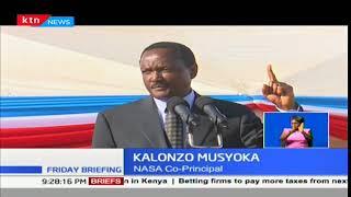 NASA Co-principal Kalonzo Musyoka rekindles Raila Odinga's swearing in ceremony