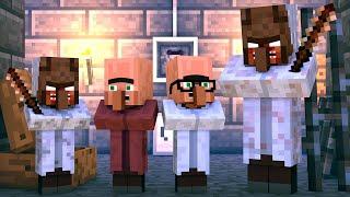 Granny Vs Villager Life: FULL ANIMATION   Minecraft Animation