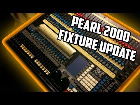Avolites Pearl 2000 Fixture Library Update Tutorial
