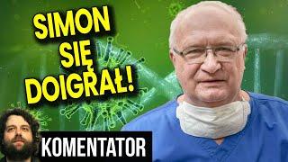 Profesor Simon Jednak Odpowie za Reklamę Maseczek za Pieniądze – Analiza Ator Rada Medyczna Finanse