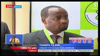 Mwenyekiti wa tume ya IEBC-Wafula Chebukati asema kuwa wameamua kuikabidhi zabuni kampuni ya Safran