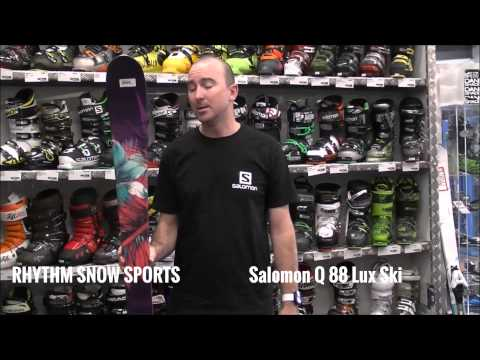 2015 Salomon Q 88 Lux Ski Review