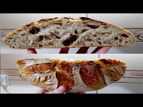 Buke me Brume teThartuar. Sourdough Bread. Si pergatitet brumi i thartuar dhe si zihet buka me te?