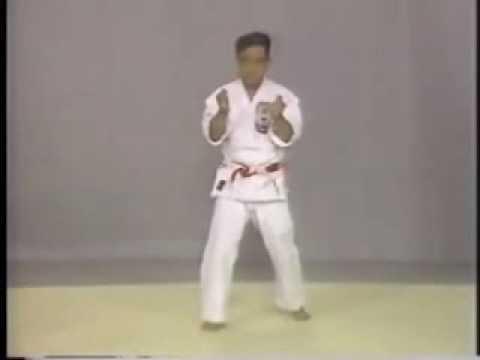 Sunsu Kata karate  Isshin Ryu