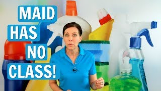 House Cleaner Has No Class!  WARNING - ANGELA BROWN RANT