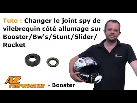 Changer le joint spy de vilebrequin coté allumage de son Booster / Stunt / Rocket / ...