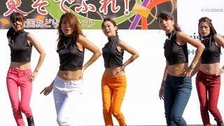 京都学生祭典2013 女子大生ダンスチーム Amiddle (アミドル)