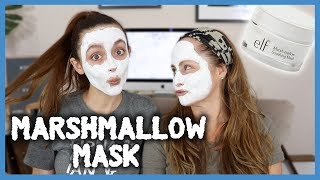 $10 MARSHMALLOW MASK.. Amazing for DRY SKIN?! | Monday Masks With Mami
