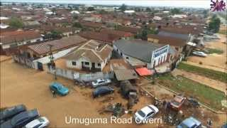 preview picture of video 'Owerri Fish Eye View'