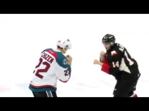 Colby McAuley vs. Braydyn Chizen