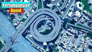 Pesawat Ini Nyebrang di Jalan Raya!! Inilah 6 Persimpangan Jalan Paling Ekstrim Di Dunia