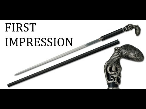 First Impression - Octopus Sword Cane by Dragon King