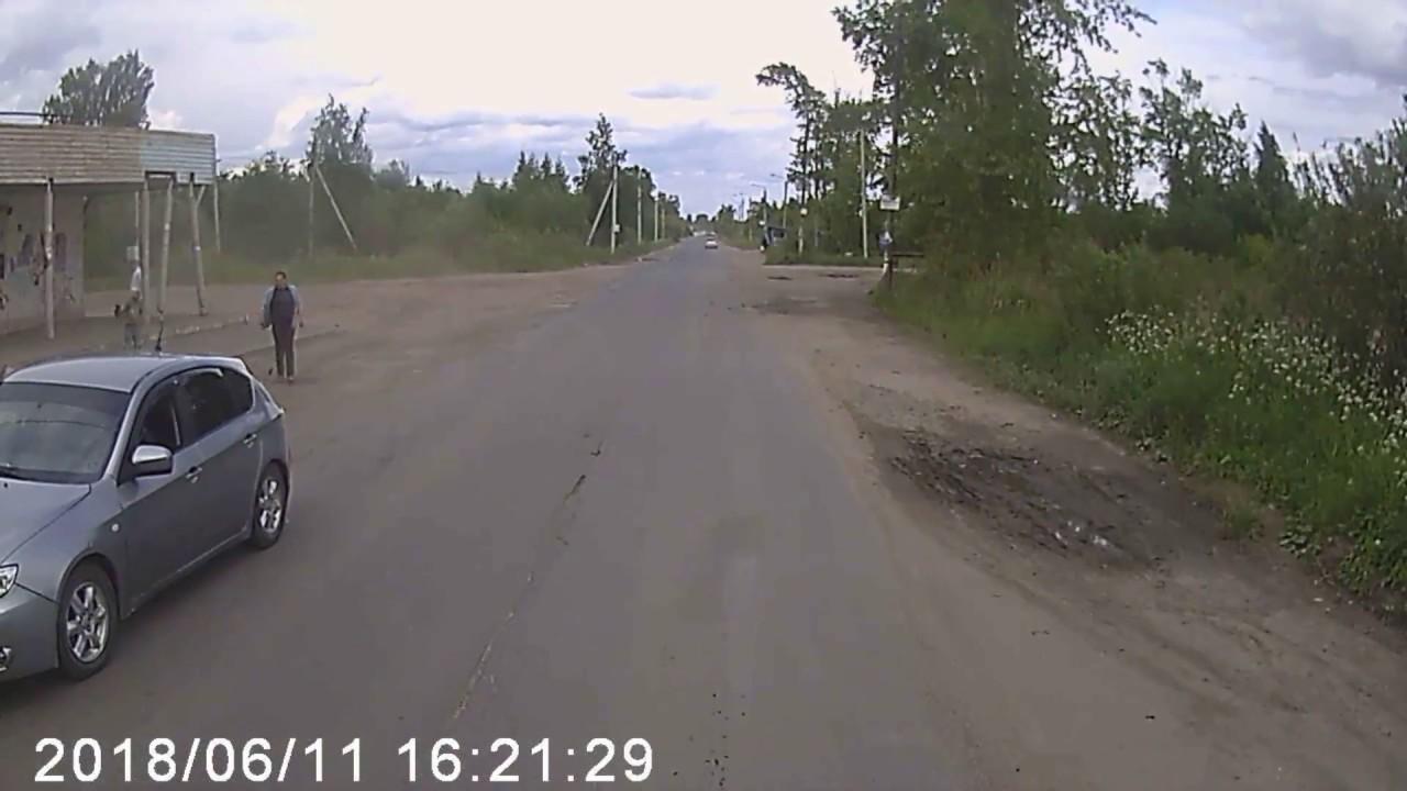В Вологде автомобиль Subaru сбил ребенка на велосипеде