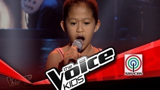 """The Voice Kids Philippines Blind Audition """"Luha"""" by Marianne"""