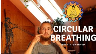 how to circular breathing for didgeridoo   lesson, tutorial (HD)
