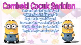 Haftanin Gunleri - Çocuk Şarkısı - Şarkı Sözleri
