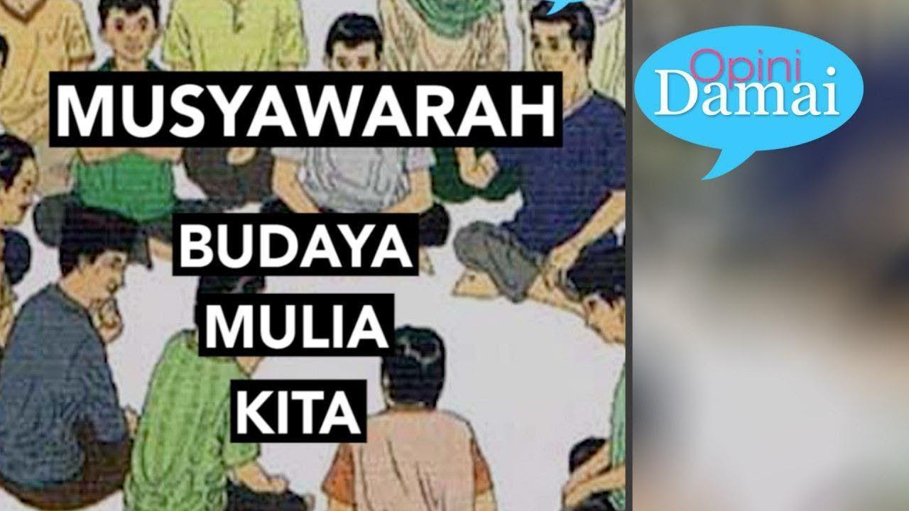Sejarah Musyawarah Di Indonesia