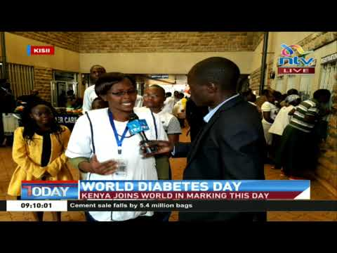 Kisii county joins the world in marking World Diabetes Day