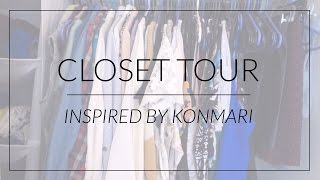 Closet Tour  |  How I Organize with KonMari