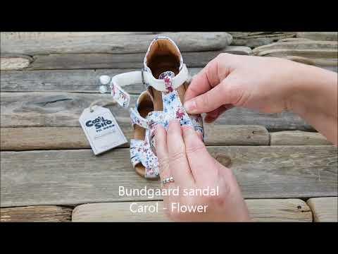BUNDGAARD   SANDAL   CAROL   FLOWER