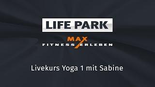 Yoga (Live-Mitschnitt vom 29.03.2020) mit Sabine