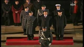 German National Anthem - Gerhard Schröder Farewell