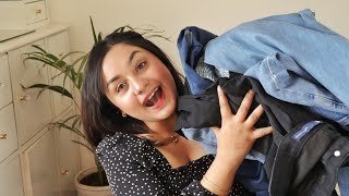 HighWaist Jeans Try -On HAUL(from Rs 200 To 1200)| Sarojini Nagar/Myntra /Ajio FACEDECOR