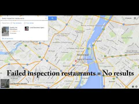 Video of Dirty Dining Montreal