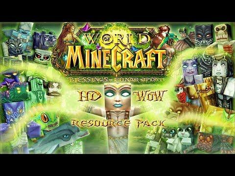 World of Minecraft - HD 128x128 WoW Resource Pack Minecraft Texture Pack