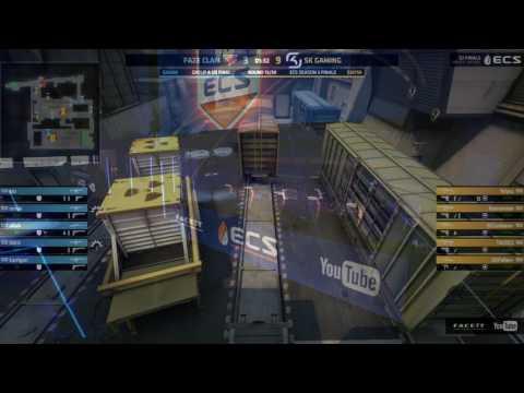 CS:GO - FaZe vs. SK Gaming (Train) - HIGHLIGHTS [ECS Season 3 Finals]