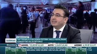 TAV Teknoloji Genel Müdürü Kerem Öztürk – BloombergHT 11.02.2019