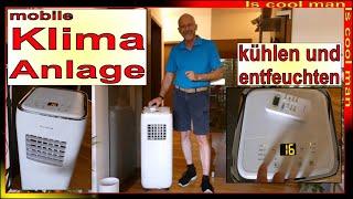 4 in 1 Portable Klimaanlage für zu Hause - Dachgeschoss - Sommer 2020 - guter Schlaf - 24/7 Top Tipp