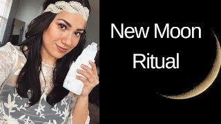 New Moon Ritual | My Law Of Attraction Story