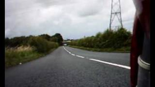 preview picture of video 'Ducati ST4 across Formby Moss'