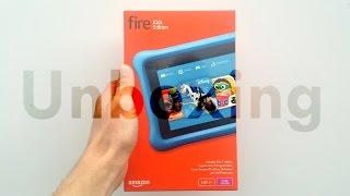 Amazon Fire Tablet Kids Edition: Unboxing & Setup