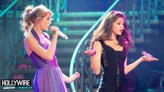 Taylor Swift Beatboxing Vs. Selena Gomez Rapping