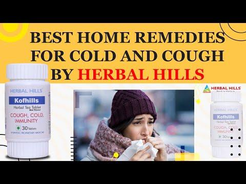 Kofhills Tea Tablets-  Cold & Cough Tea for Cold  Herbal Tea Supplements Immunity Tea Cough Tea