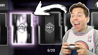 I PULLED ONE OF THE BEST GALAXY OPALS! NO MONEY SPENT #12! NBA 2K