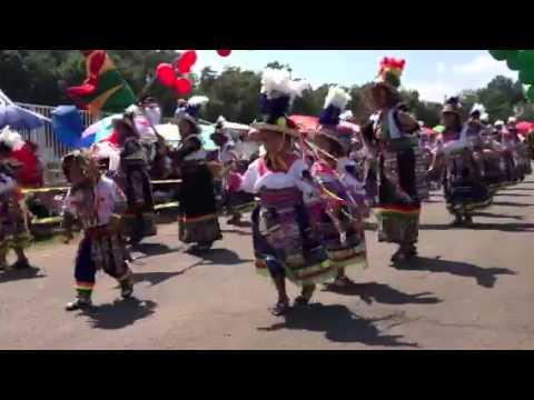 Tinkus wapurys Tiataco  usa festival boliviano 2013