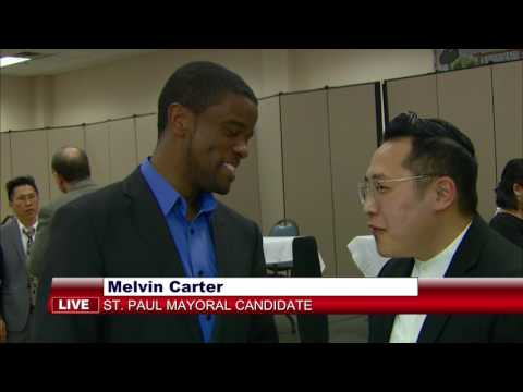 3 HMONG NEWS: Meet Melvin Carter, one of the candidates for St. Paul mayor. With HBCTV Chonburi Lee.