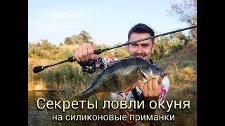 Ловля окуня на силиконовые приманки: советы и секреты [Crazy Fish]