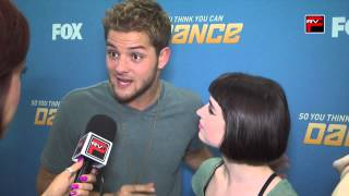 Will Thomas & Amelia Lowe interview after Love Cats Performance on SYTYCD Season 9