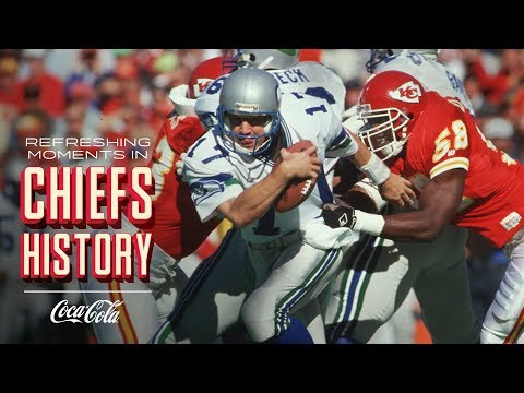 Derrick Thomas' NFL-Record 7-Sack Day vs. Seahawks | Refreshing Moments in Chiefs History