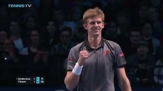 Highlights: Anderson Notches Debut Win Over Thiem In London 2018