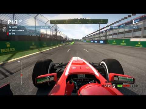 Gameplay de F1 2013